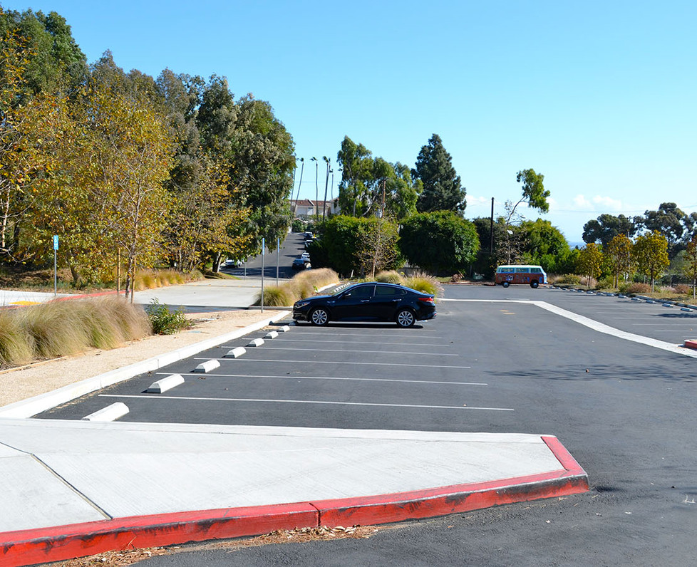 Webster Elementary School Lower Parking Lot