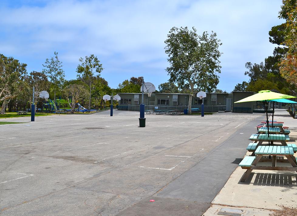 Malibu Elementary Basketball Courts
