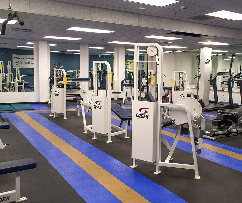 Santa Monica High School Fitness Room