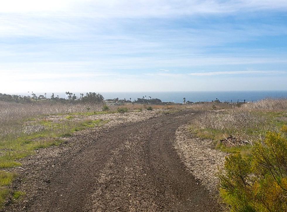 Malibu High School/Middle School Undeveloped Land Behind the School