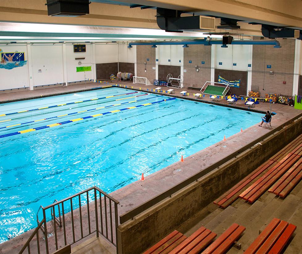 Santa Monica High School Indoor Pool