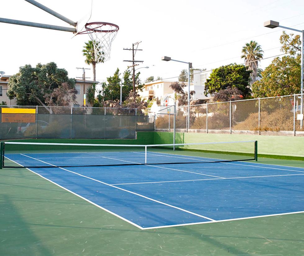 Muir/SMASH Elementary School Tennis Court
