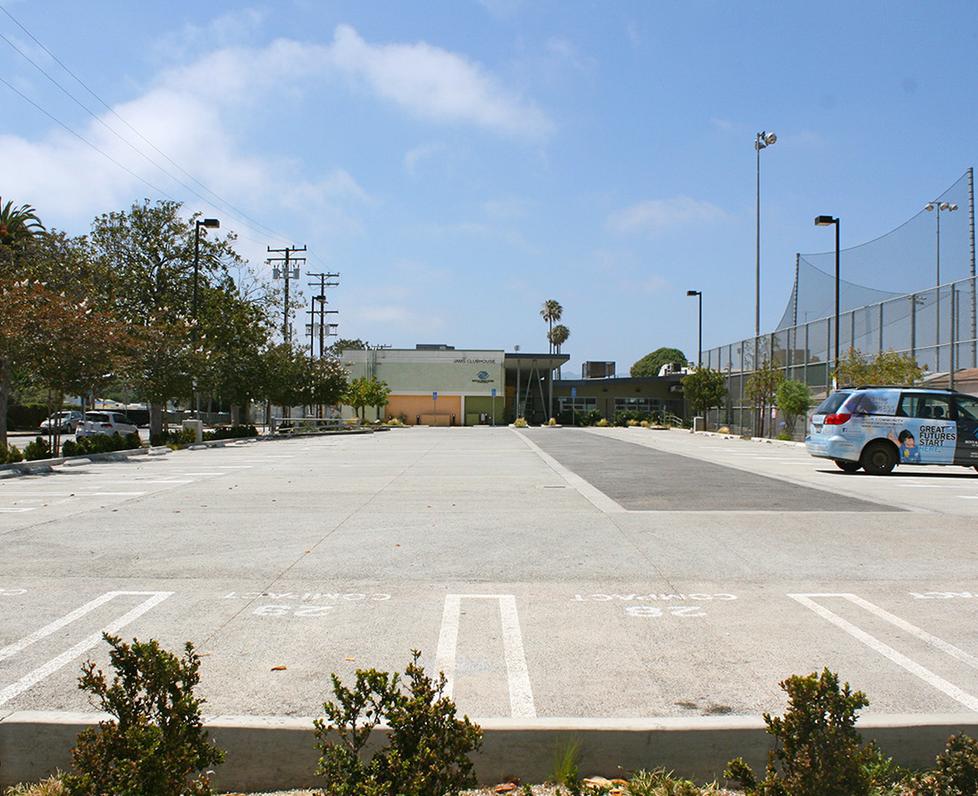 John Adams Middle School 16th Street Parking Lot
