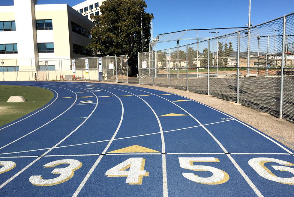 Santa Monica High School Track