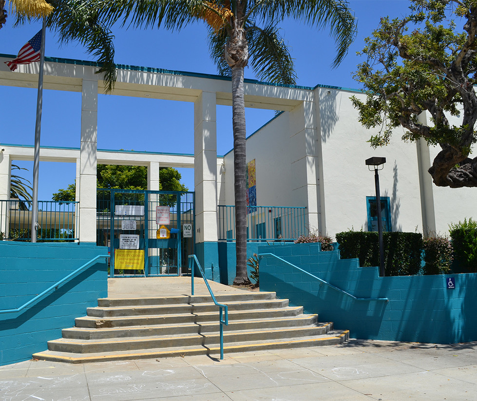 Roosevelt Elementary School Entrance