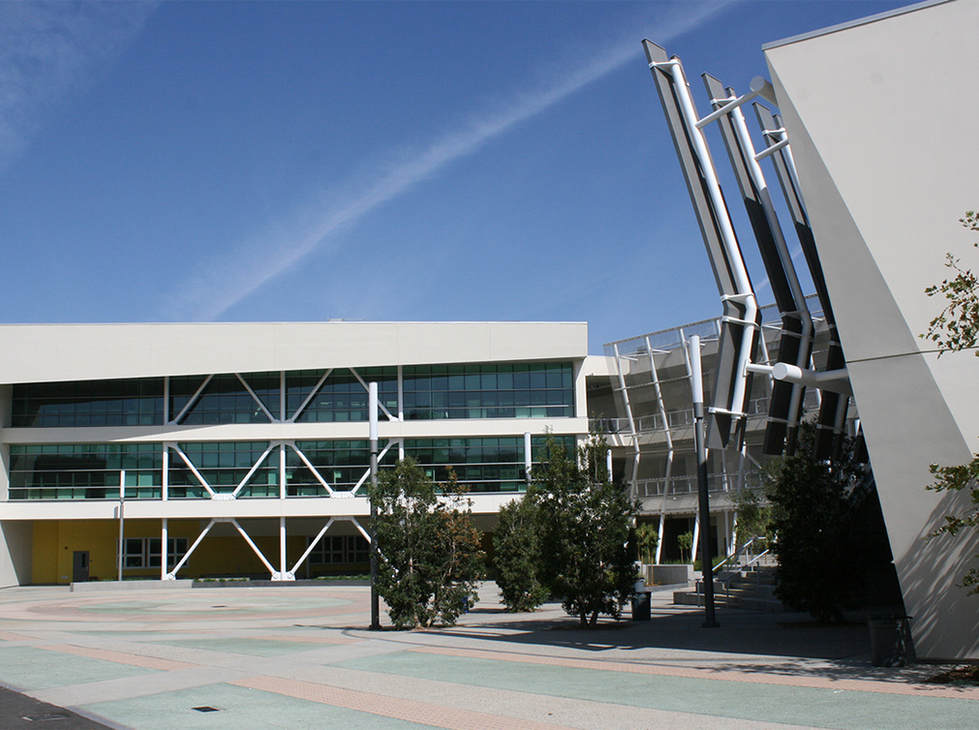 Santa Monica HS Innovation Building Entrance