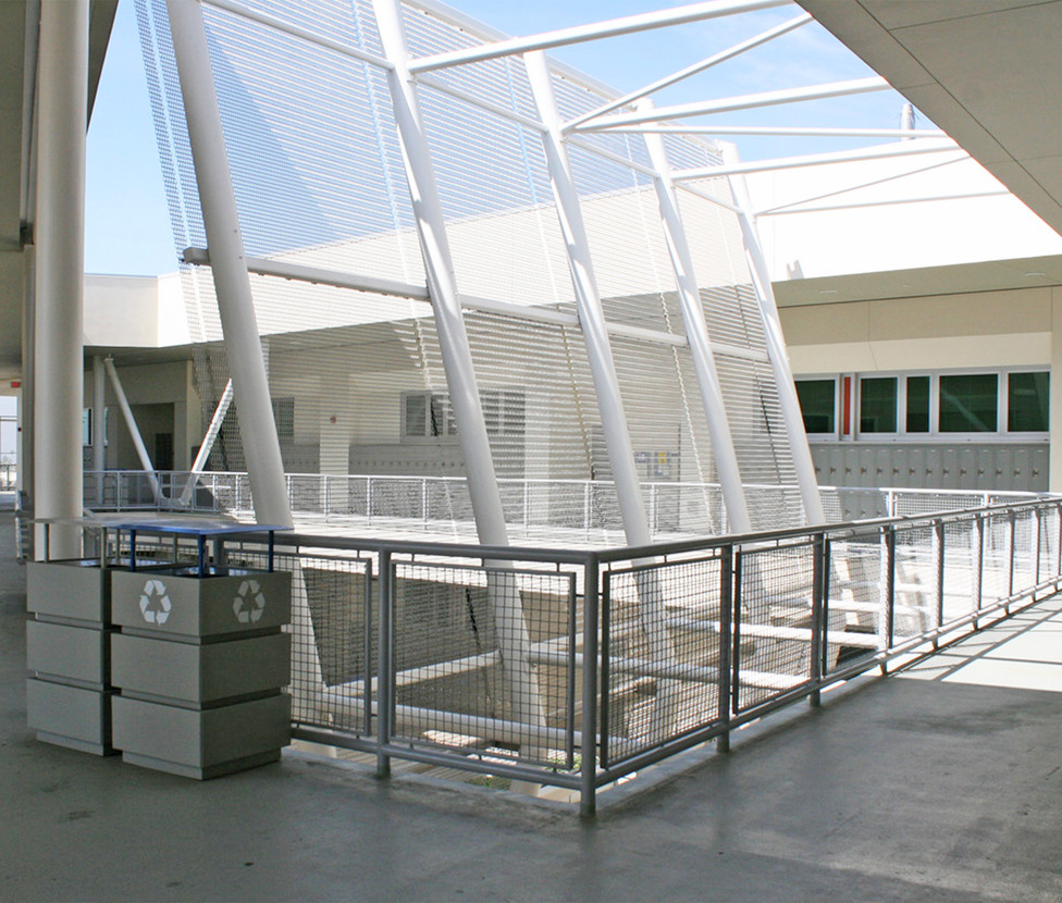 Santa Monica High School Innovation Building Upper Walkway