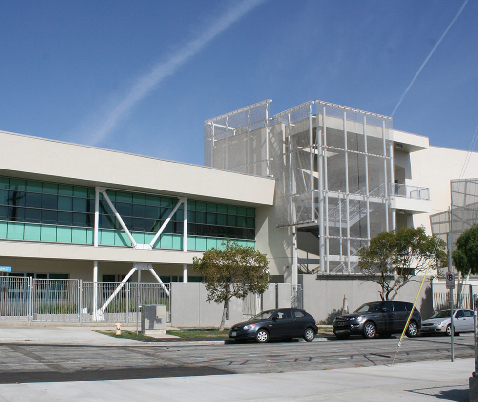 Santa Monica High School Innovation Building Street View