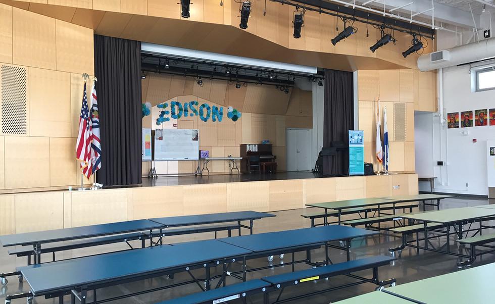 Edison Language Academy Cafetorium