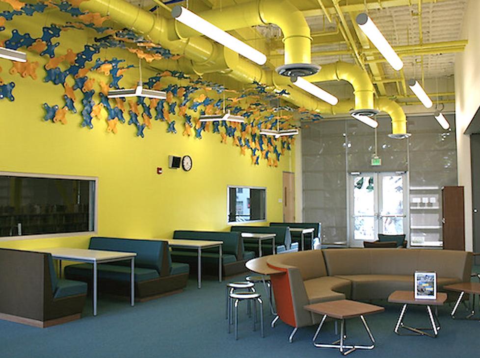 Lincoln Library Interior