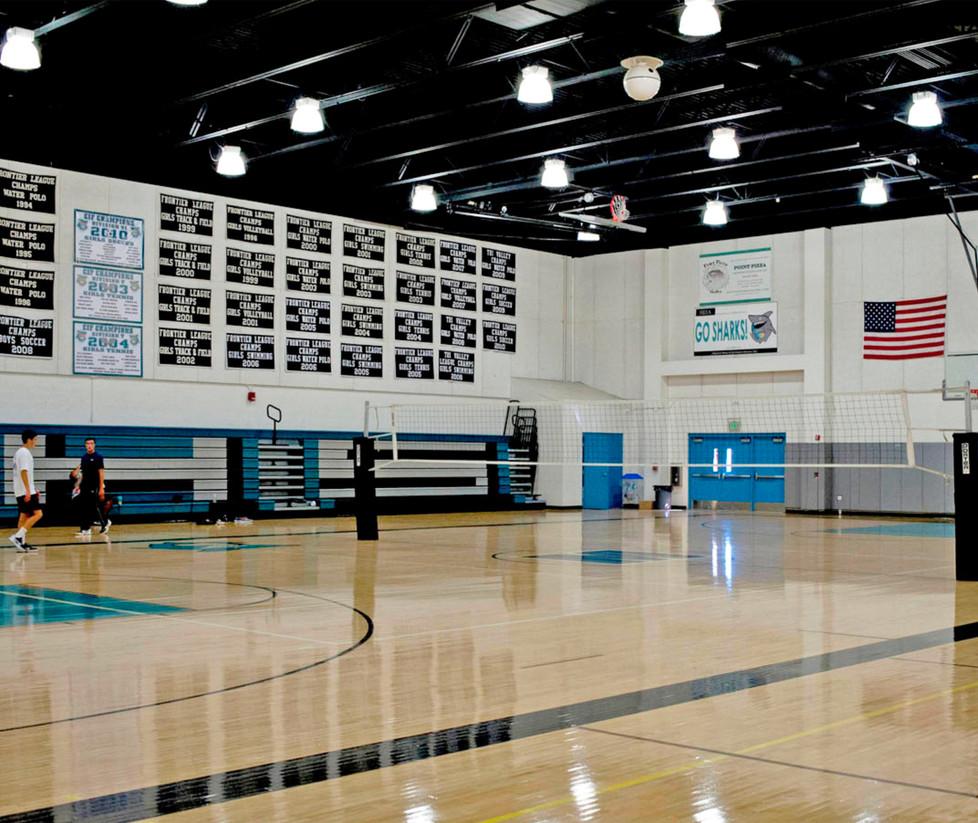 Malibu High School Lower Gym