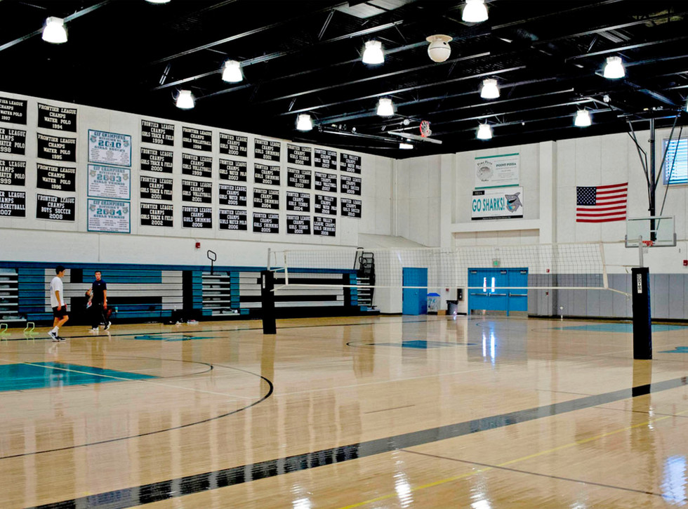 Malibu High School/Middle School Lower Gym