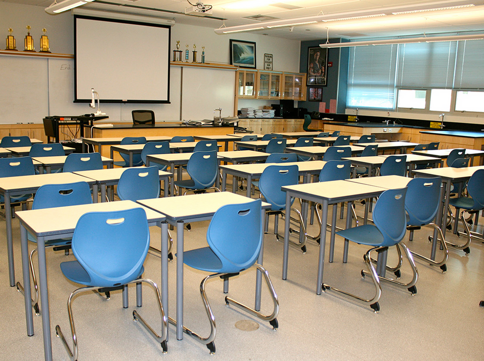 Santa Monica HS Classroom
