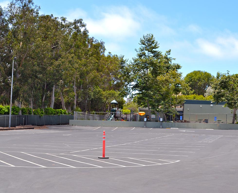 Malibu Elementary School Parking Lot