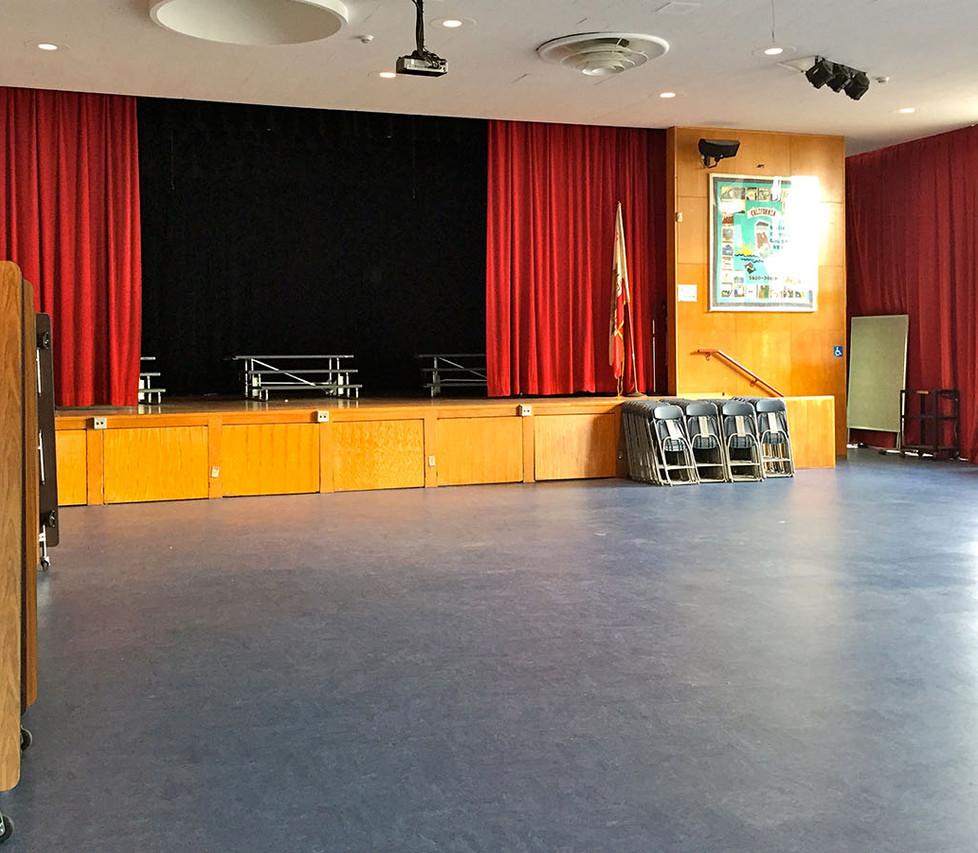 Webster Elementary School Cafetorium