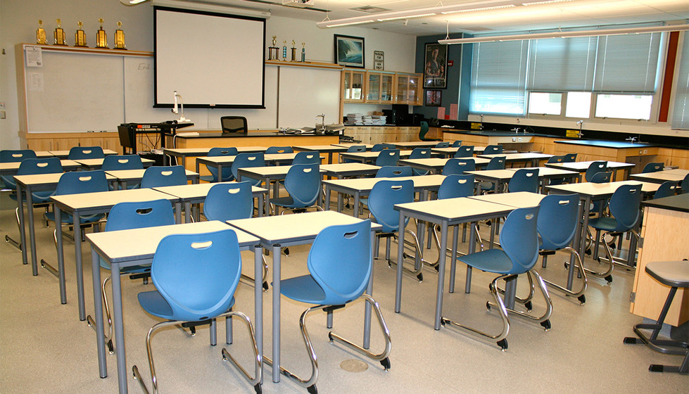 High School Standard Classroom