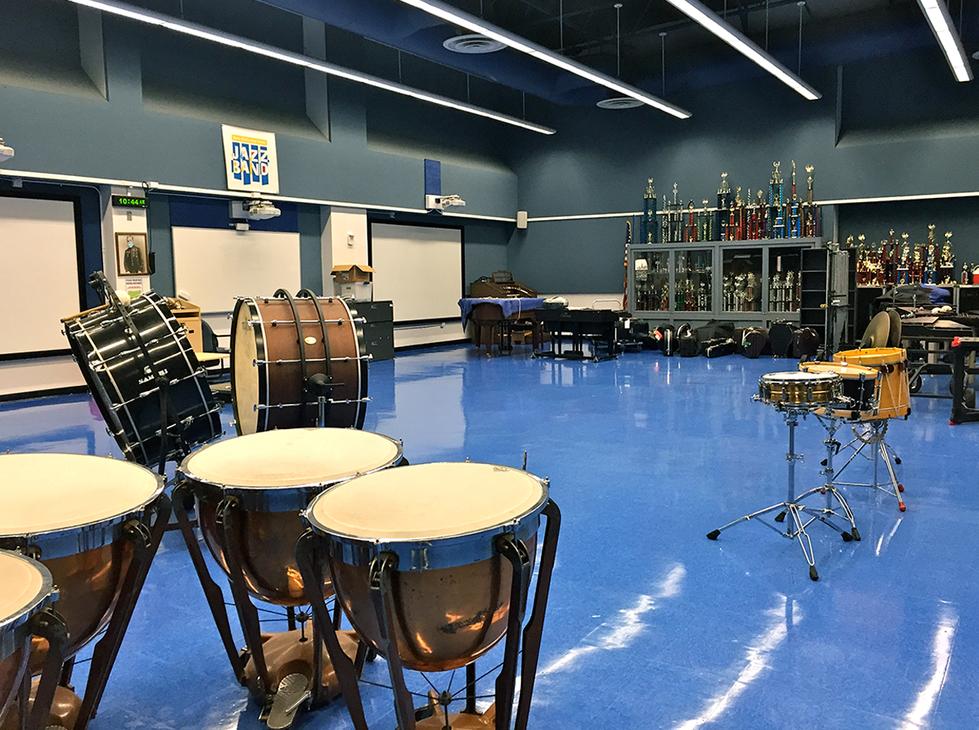 Santa Monica HS Band Room