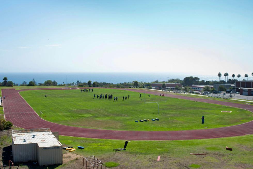 Malibu High School Football Field