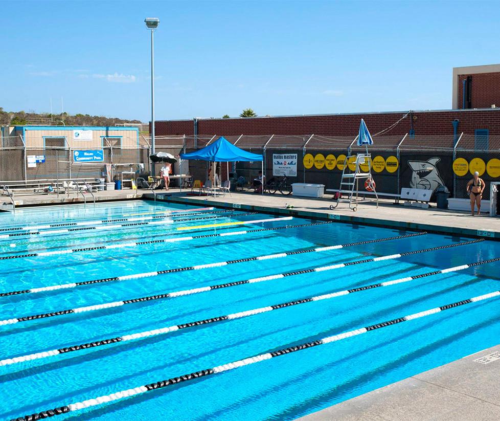 Malibu High School Outdoor Pool