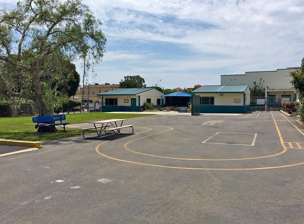 Roosevelt Kindergarten Yard