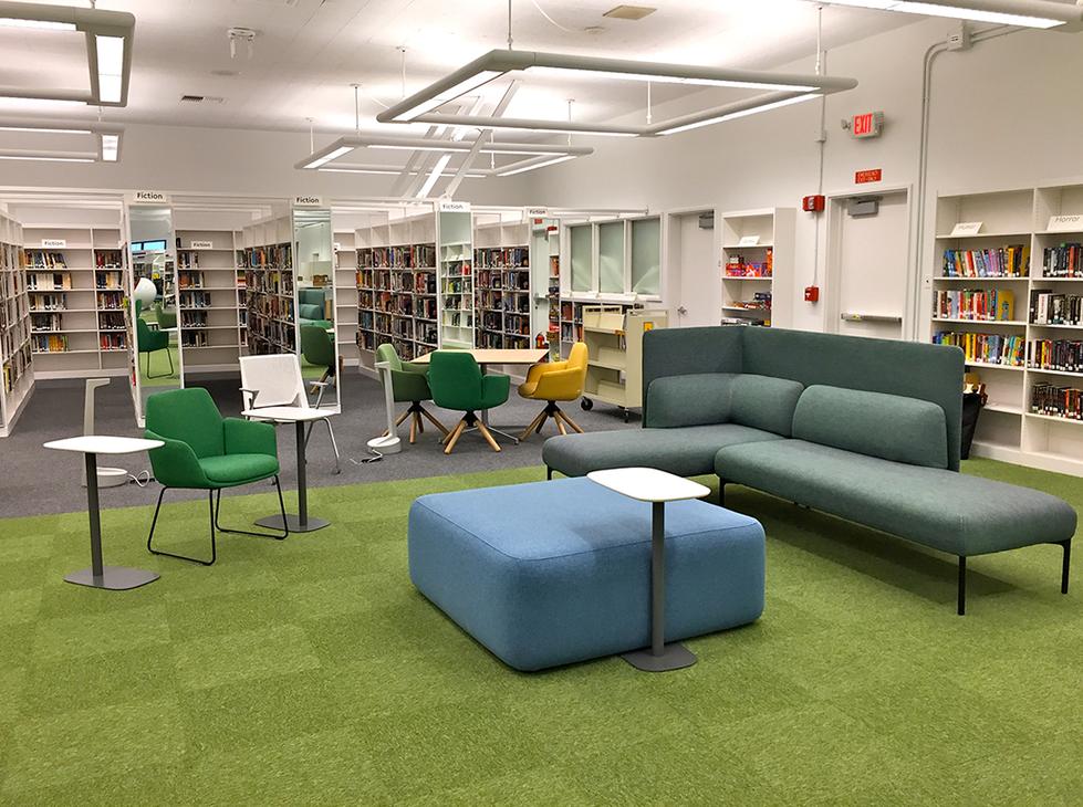 Santa Monica HS Library
