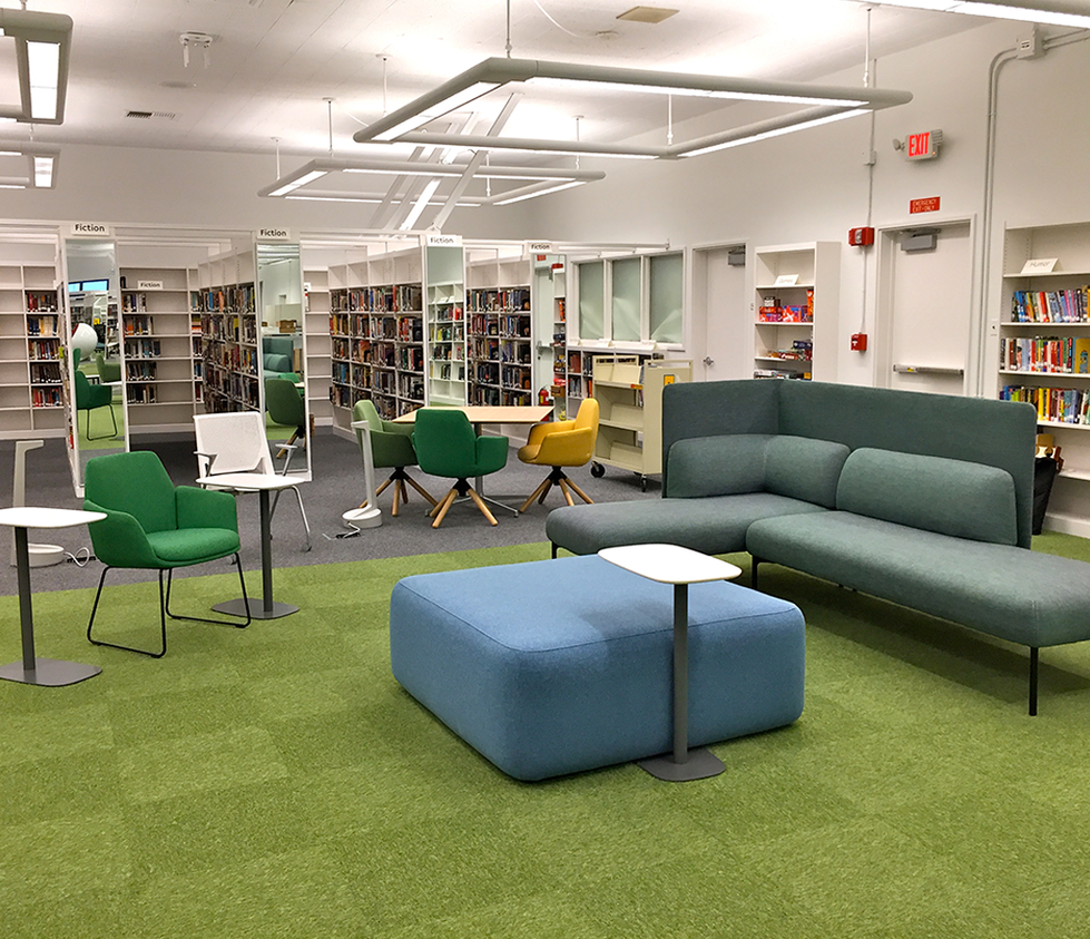 Santa Monica High School Library