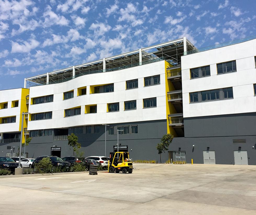 Santa Monica High School Discovery Building Exterior