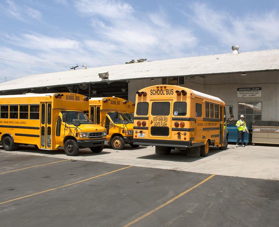 Santa Monica Malibu Unified School District Bus Yard