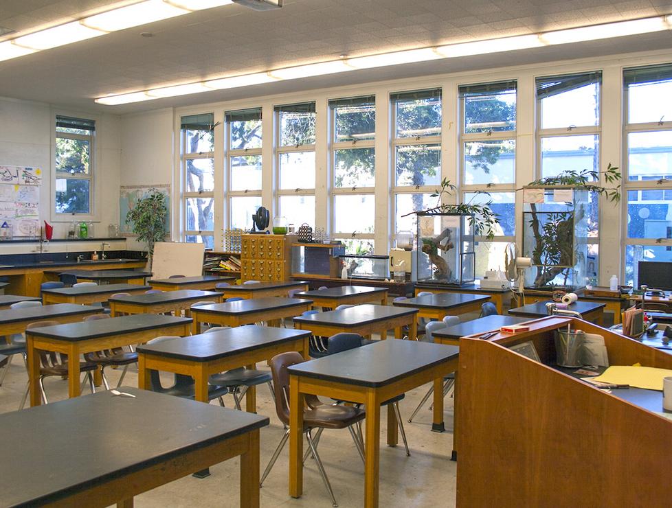 John Adams Science Classroom