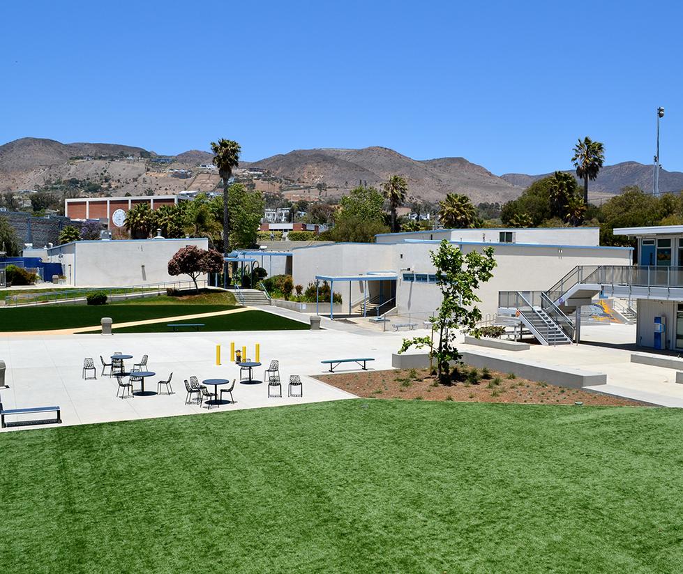 Malibu High School/Middle School Main Quad