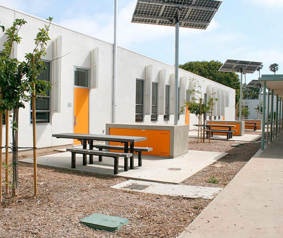 John Adams Middle School Interior Quad