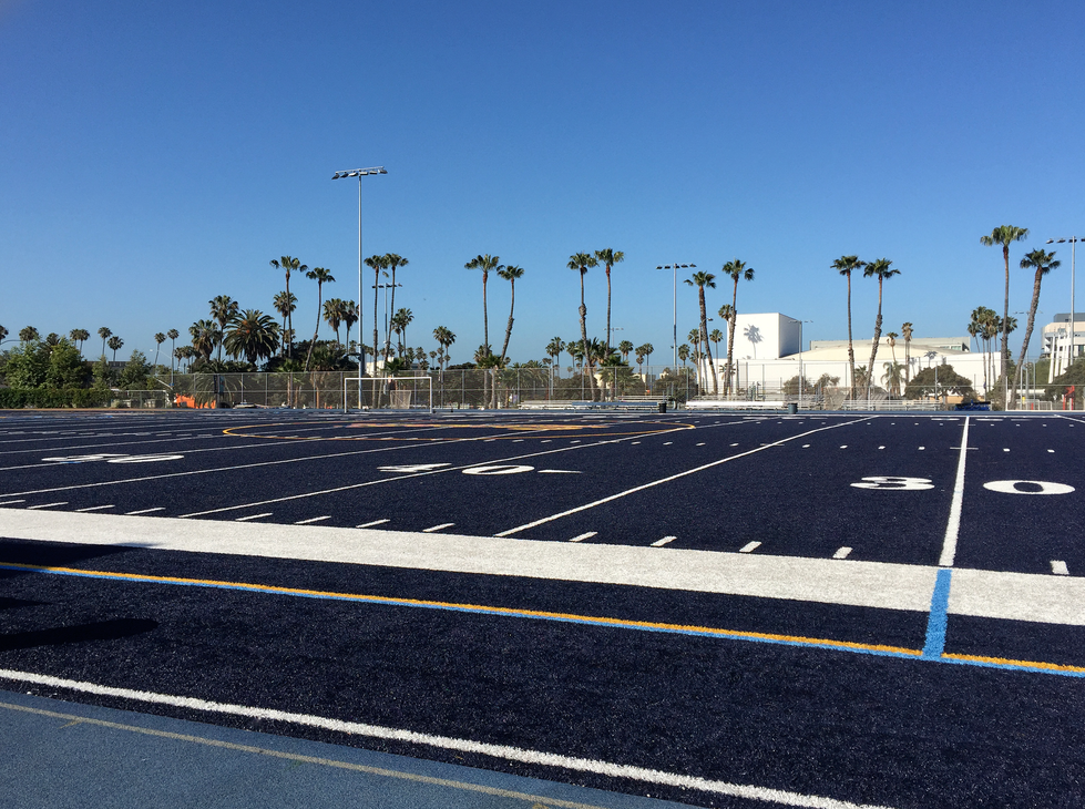 Santa Monica HS Football Field