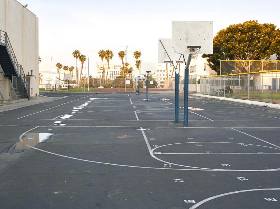 Santa Monica HS Outdoor Basketball Courts