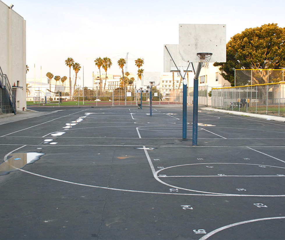 Santa Monica High School Outdoor Basketball Court
