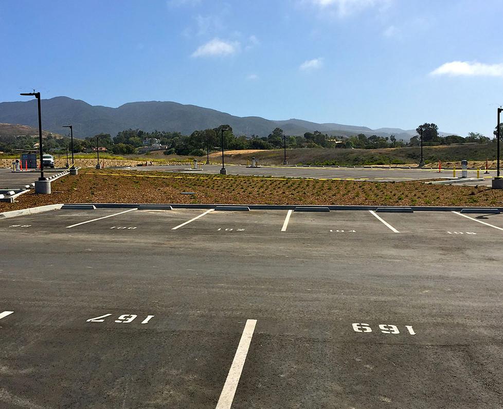 Malibu High School Football Parking Lot