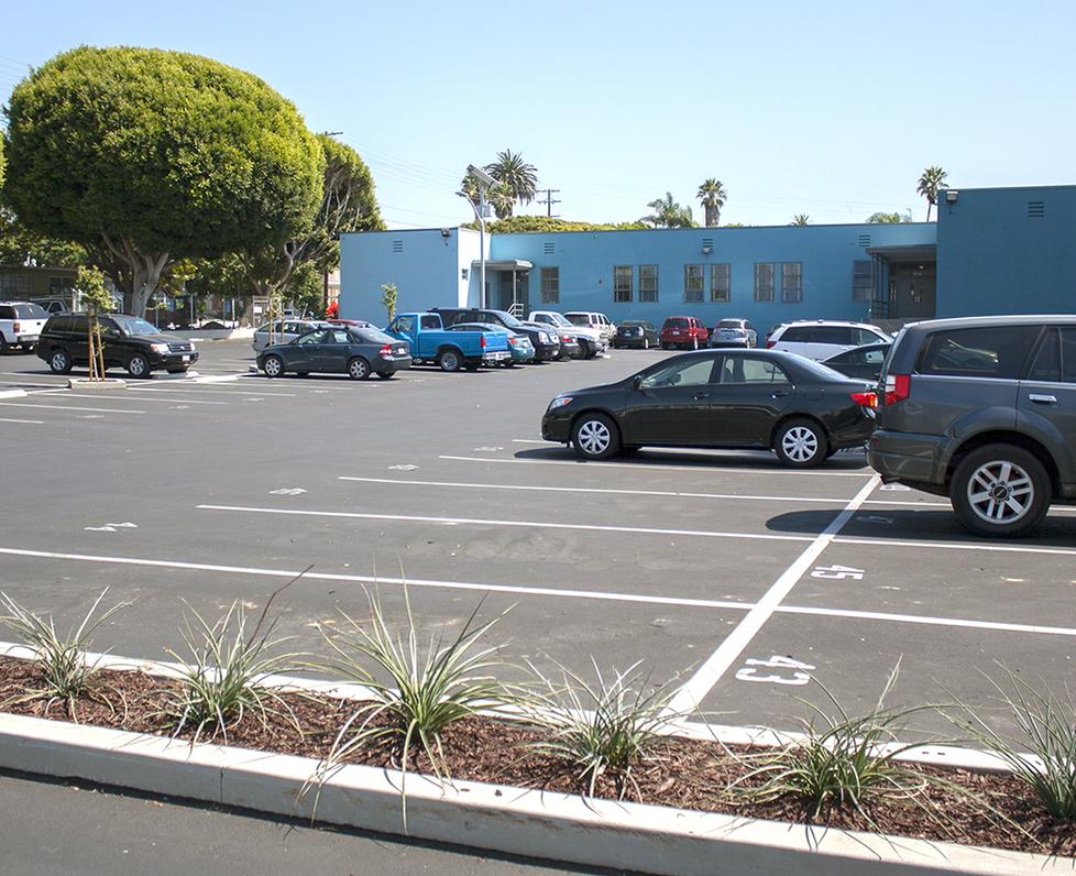 PDLC Washington West Parking Lot