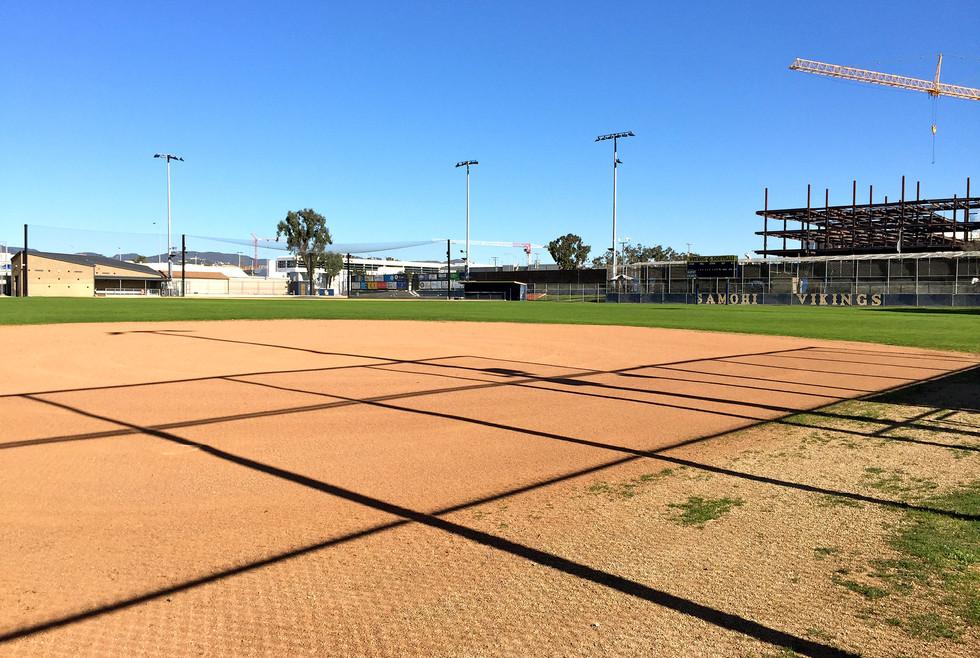Santa Monica High School Softball Field
