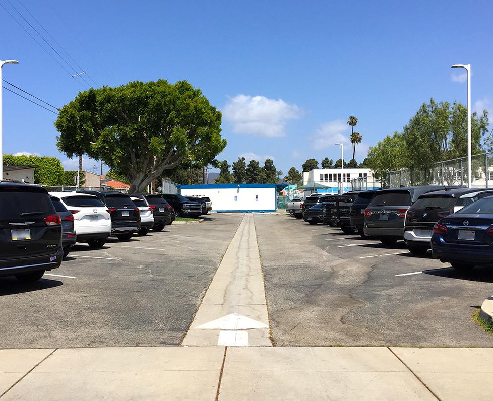Franklin Elementary School Parking Lot