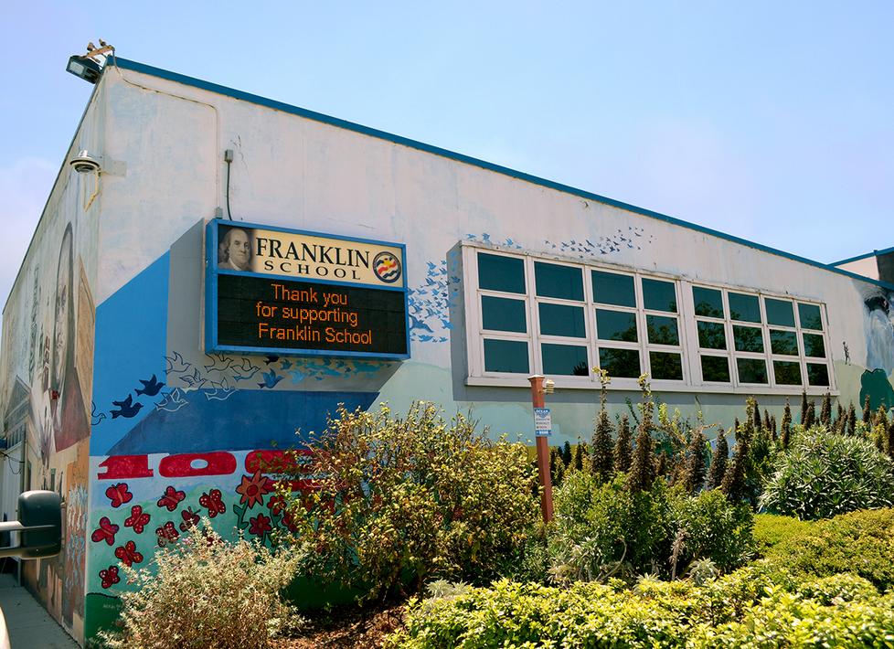 Franklin Cafetorium Exterior