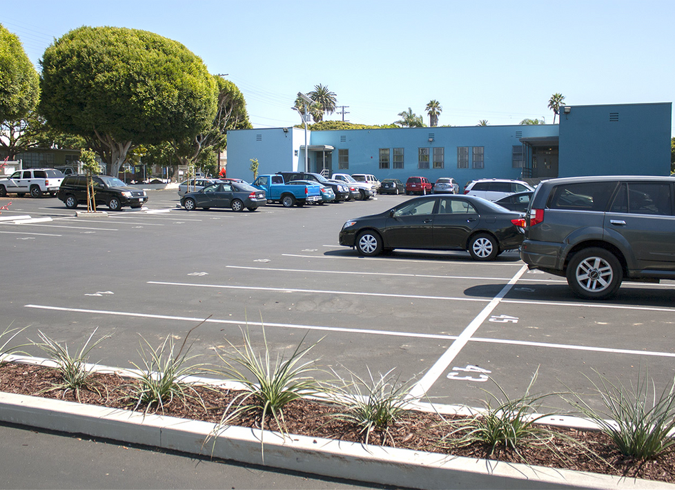 Washington West/PDLC Parking Lot