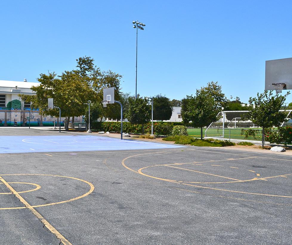 John Adams Middle School Basketball Courts