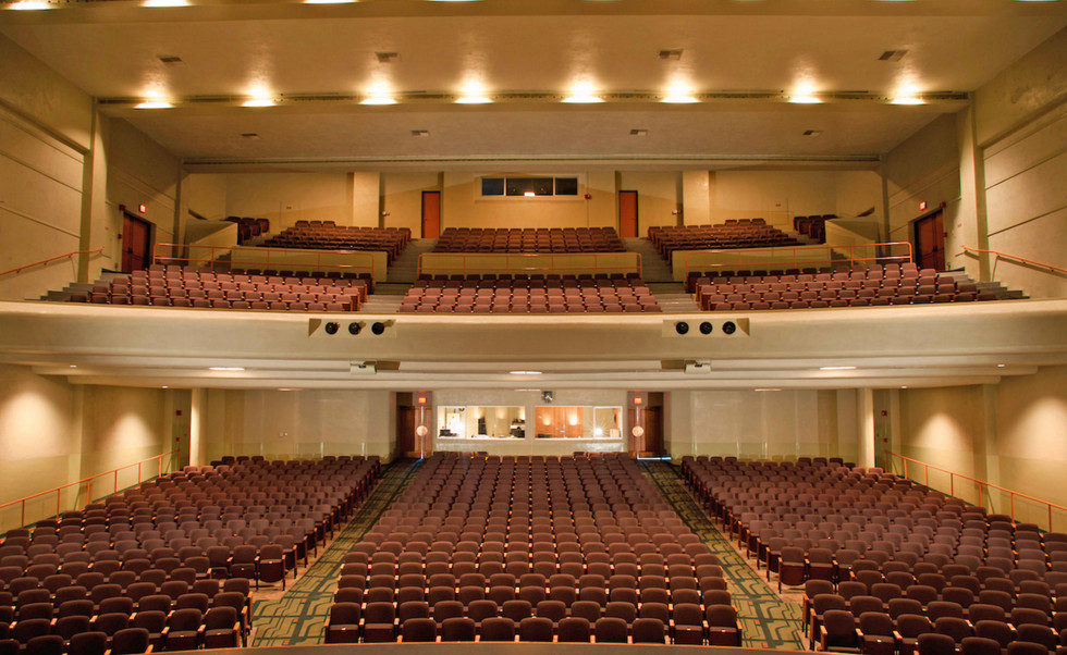 Barnum Hall seating