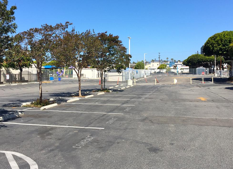 McKinley Parking Lot