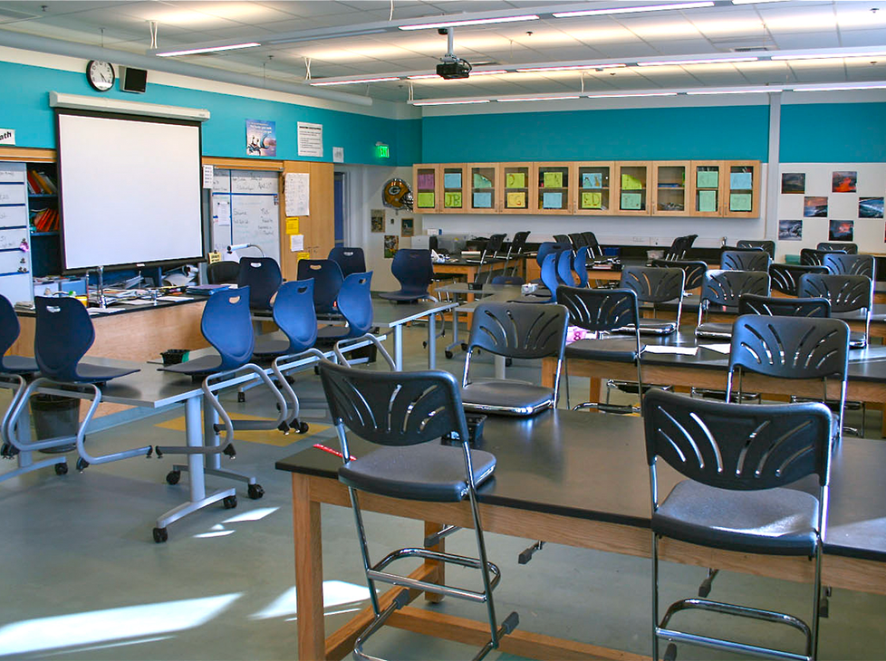 Lincoln Science Classroom