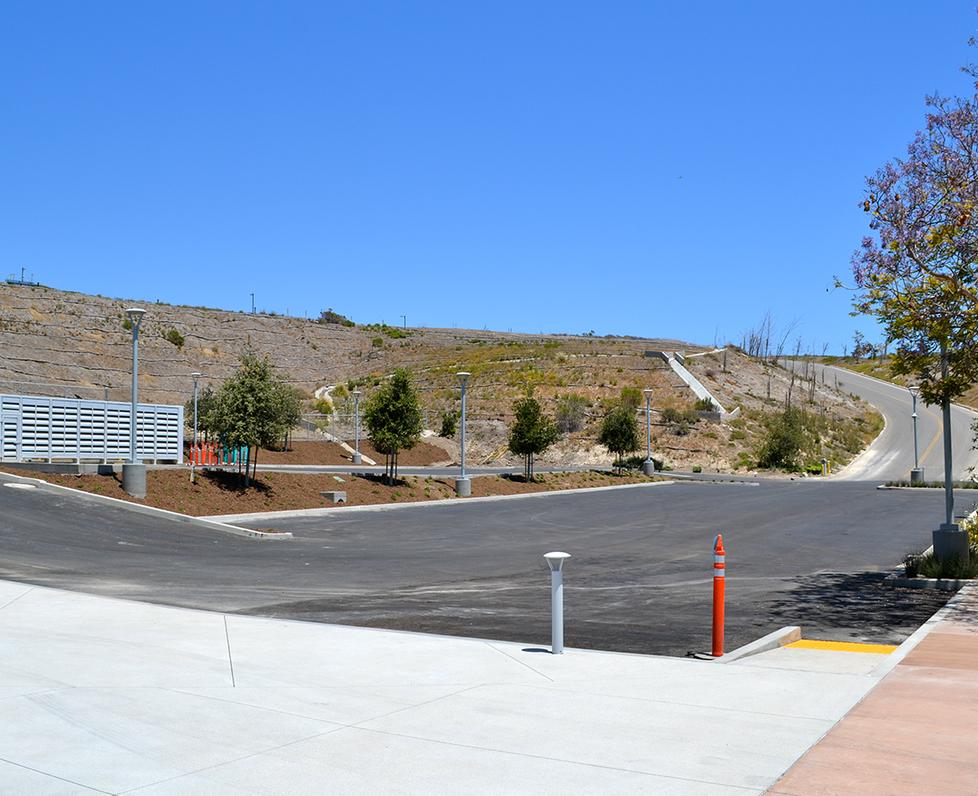 Malibu High School Parking Lot D