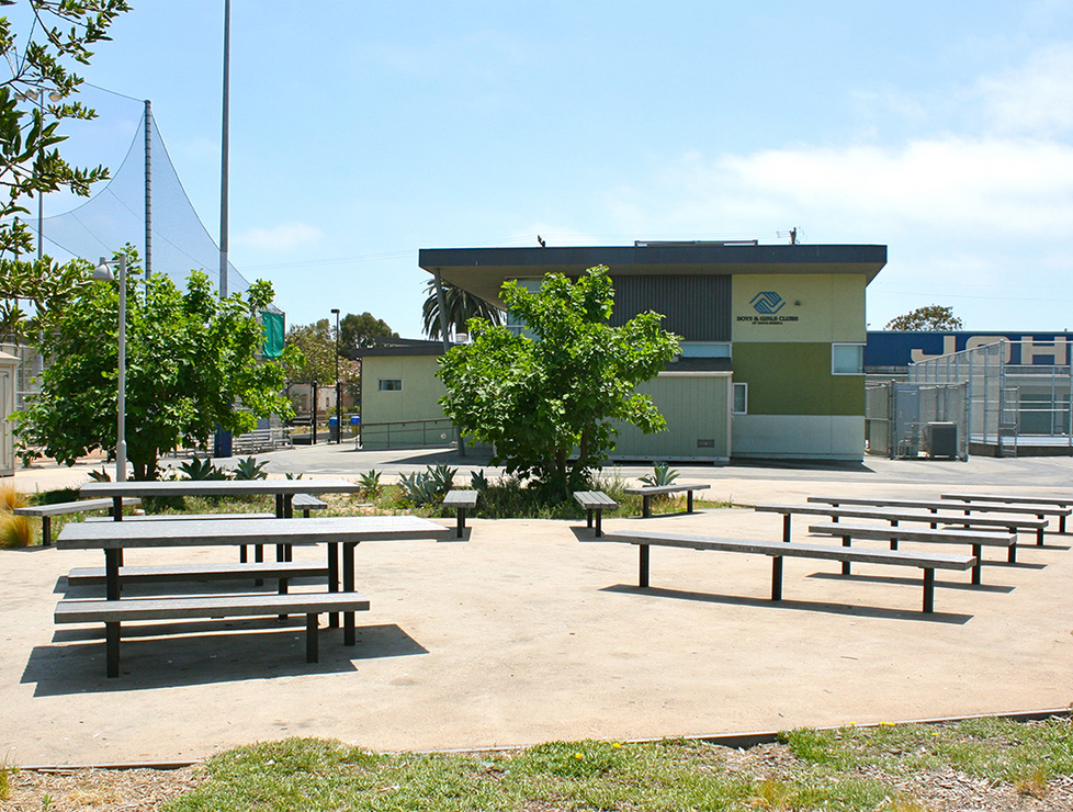 John Adams Outdoor Lunch Tables