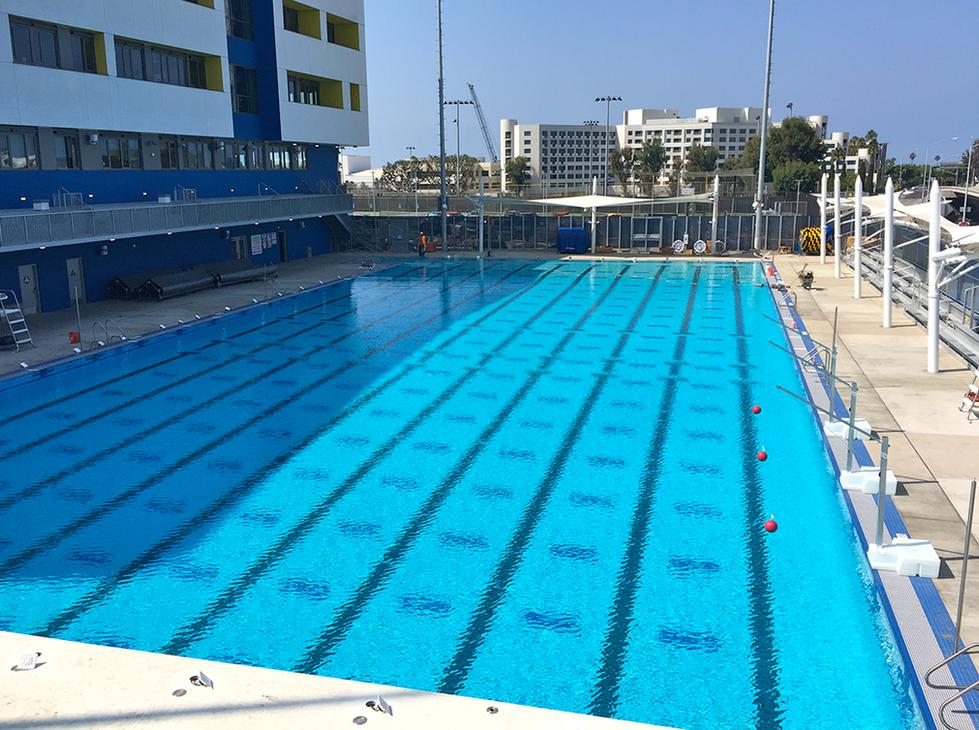 Santa Monica High School Outdoor Pool