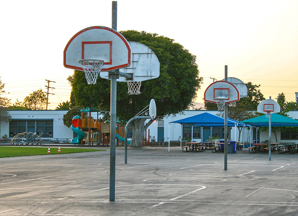 Grant Outdoor Basketball Court