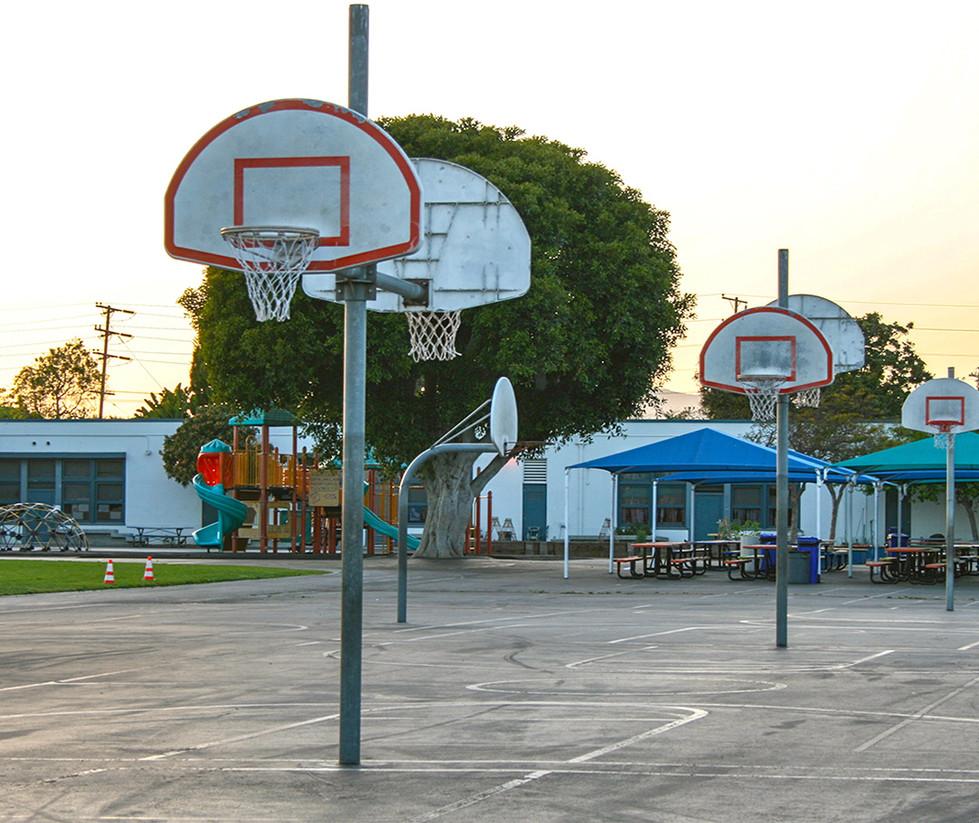 Grant Elementary School Outdoor Basketball Court