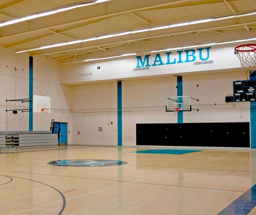 Malibu High School Upper Gym